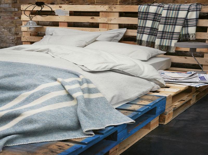 postel z palet 2